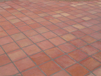 square saltillo tile