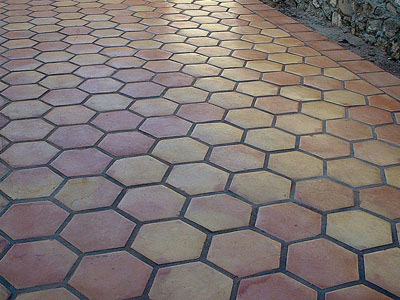 Hexagon Saltillo Tile